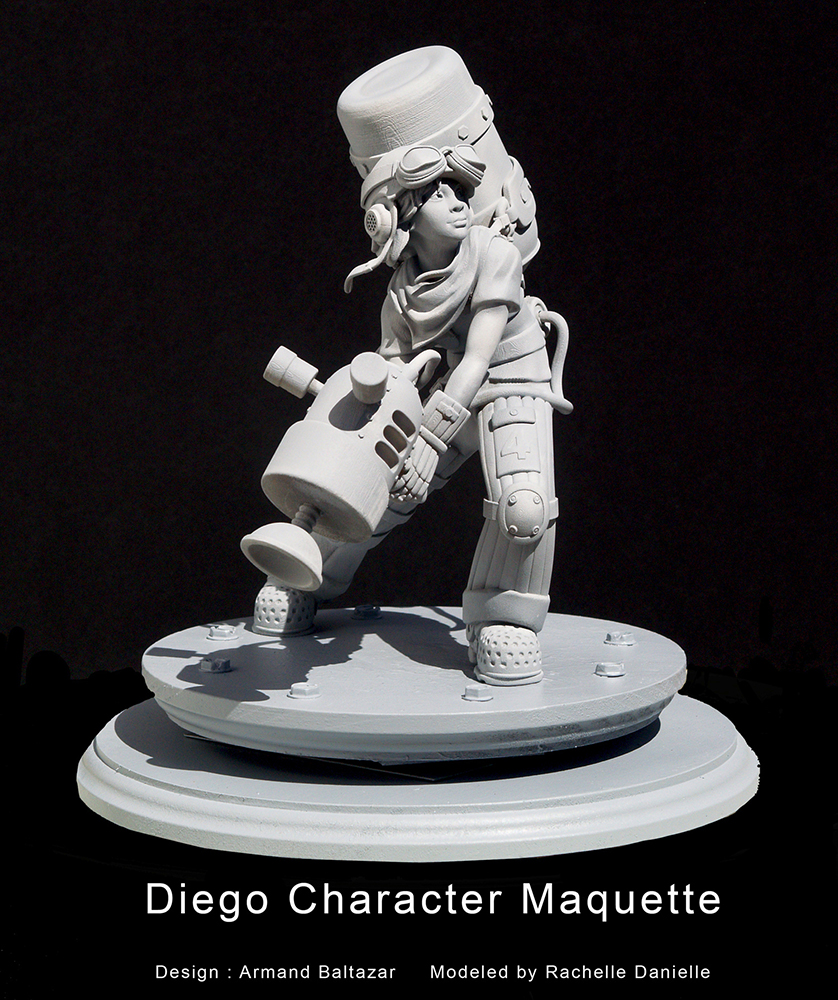 Diego character maquette