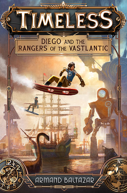 Timeless: Diego and the Rangers of the Vaslantic